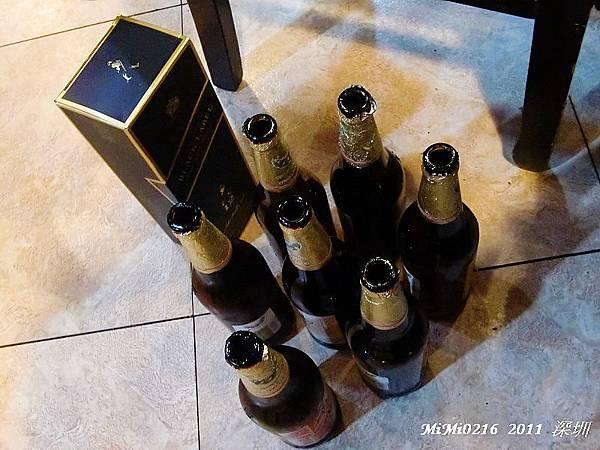 當晚在深圳喝的酒!