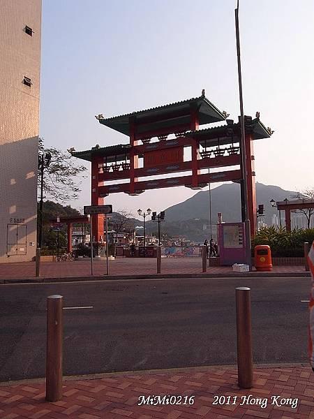 2011.4.8 傍晚時間我們來到鯉魚門吃龍蝦海鮮!