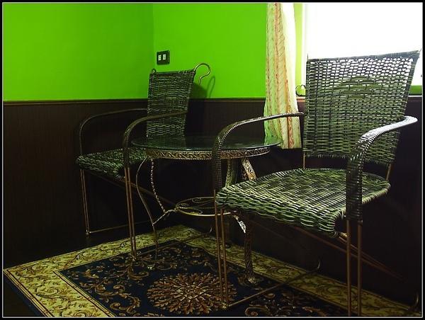 雙人房 (綠色系)