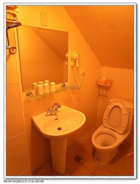 衛浴的地方。