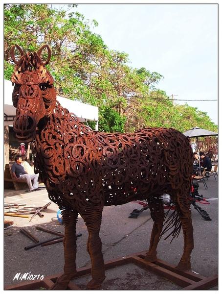 我愛這匹鐵馬。好帥喔!
