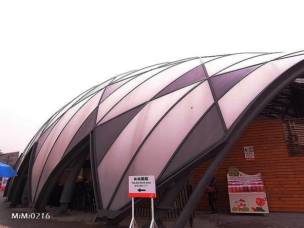舞蝶館預計做為花博會開、閉幕場館。