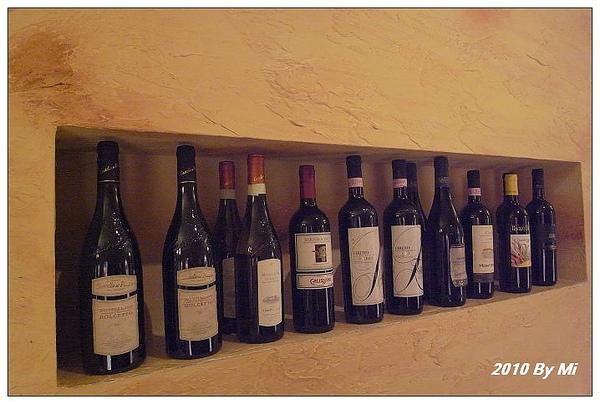 各種的紅酒。