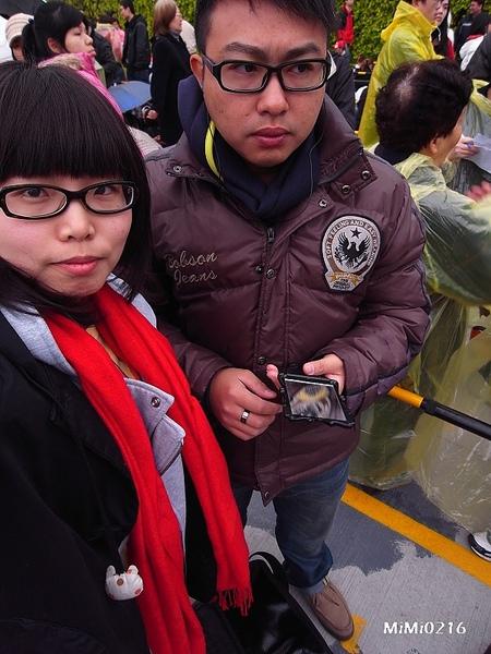陳俊羽一副壞人臉。