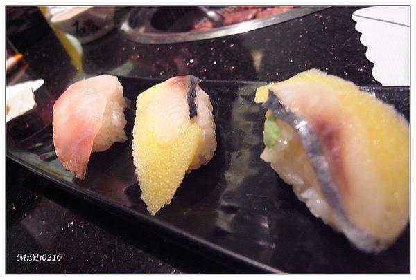 也有壽司。