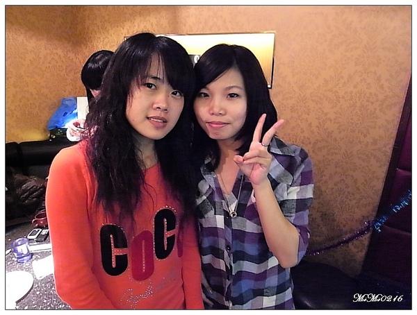 我&小琪。