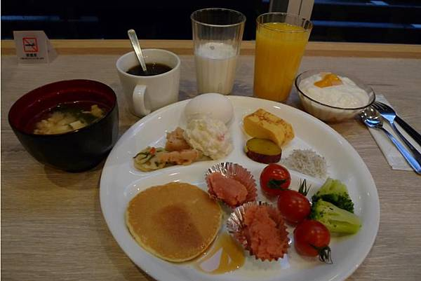 Hotel Active 博多-13 02014 breakfast.JPG