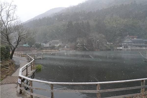 20120208 由布院 金麟湖-8