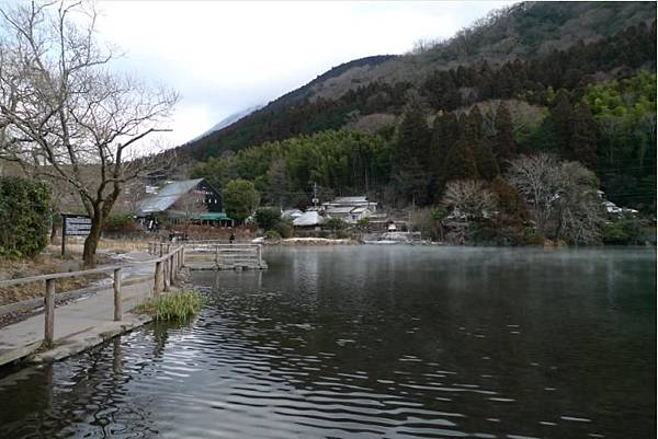 20120209 由布院 金麟湖-1