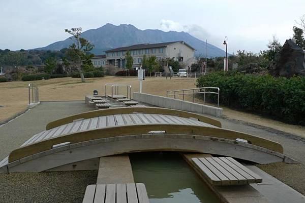 20120210 櫻島 溶岩Nagisa公園足湯-1