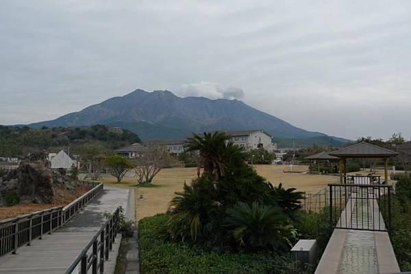 20120210 櫻島 溶岩Nagisa公園足湯-3