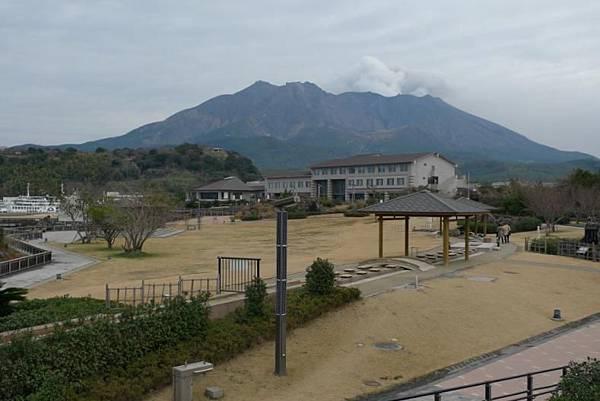 20120210 櫻島 溶岩Nagisa公園足湯-5
