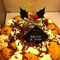 家庭聚餐聖誕蛋糕
