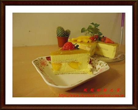 鮮芒慕斯蛋糕2