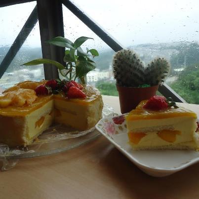 鮮芒慕斯蛋糕3