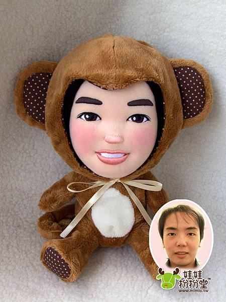 可愛動物公仔~咪卡_猴子娃娃