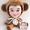 [部落客] 青青小熊*旅遊札記 - 迷你熊娃娃