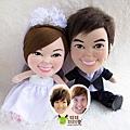 PANG+WENDY- 婚禮公仔娃娃