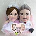 Yip+Hitomi- 婚禮公仔娃娃