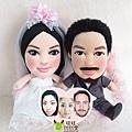 esteban+maki- 婚禮公仔娃娃