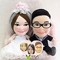 Sai-Lam+Stephy- 婚禮公仔娃娃