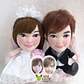 東東+秀秀- 婚禮公仔娃娃
