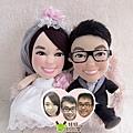 軒+琪琪- 婚禮公仔娃娃