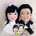 爸比+媽咪- 婚禮公仔娃娃