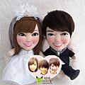HO+KANA- 婚禮公仔娃娃