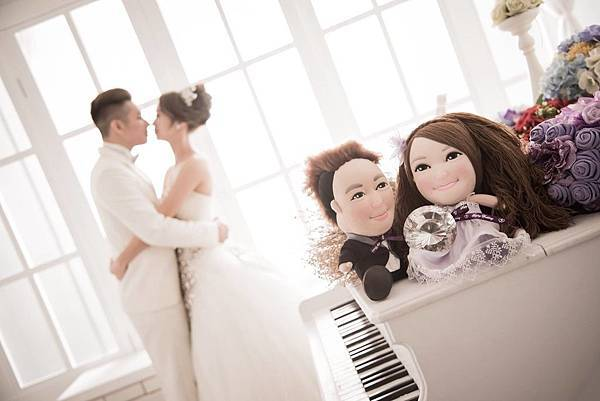 莊小虎 張小紫 (personalized doll)