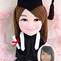 Jojo-Hui-畢業公仔