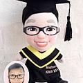 Matthew-Wong-畢業公仔