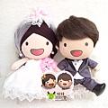 Jay+Elly- 婚禮公仔娃娃
