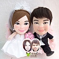 Andy寶寶+Ling寶寶- 婚禮公仔娃娃