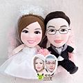 Allan+Taylor- 婚禮公仔娃娃