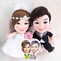 YIN+YY- 婚禮公仔娃娃
