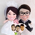 Ho-B+Twinkle-BB- 婚禮公仔娃娃