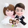 Jack+Miki 訂做結婚娃娃