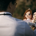 Heman+Jas 婚禮公仔