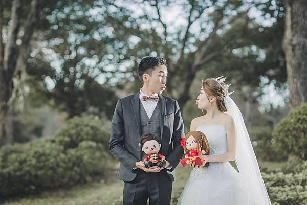 Andy+Kary 婚禮公仔
