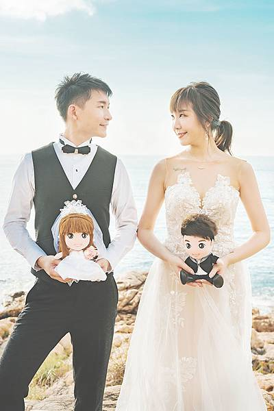 Cookie+Fung 婚禮娃娃