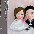 Jason+Mandy 結婚娃娃