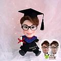 Marco-Lee 畢業公仔