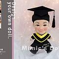 余靖嵐 畢業娃娃