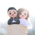 SAM+YUKI 婚禮公仔