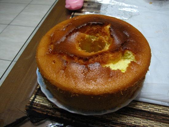 2010/08/21 雪紡蛋糕