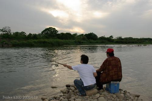 2008/4/19 新埔釣魚一日遊