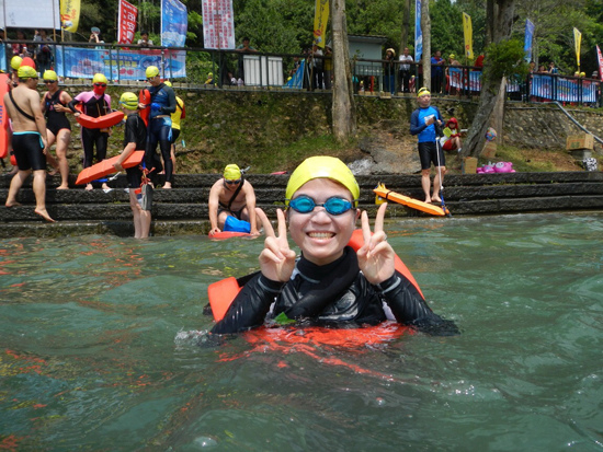 2013/9/8 泳渡日月潭