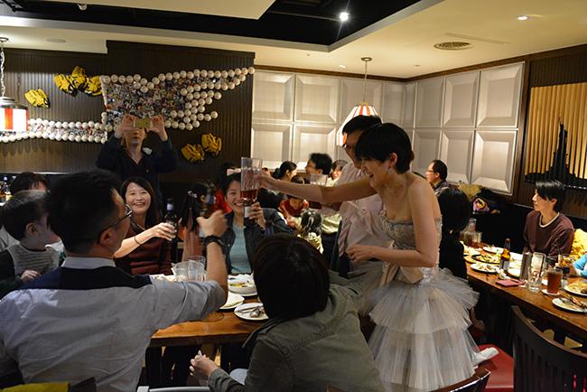 美式餐廳婚宴補請