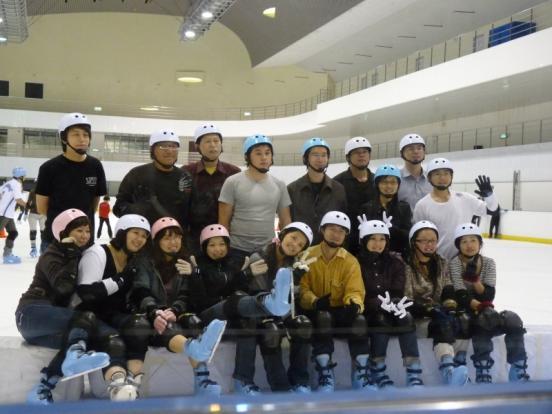 2009/02/24 台北小巨蛋溜冰